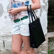 Сумки и аксессуары handmade. Livemaster - original item Tote: Leather bag for documents and laptop. Handmade.