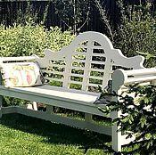 Для дома и интерьера handmade. Livemaster - original item Garden bench, English style. Handmade.