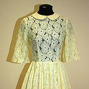 Одежда ручной работы. Ярмарка Мастеров - ручная работа Яркое кружевное платье. Handmade.
