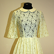 Одежда handmade. Livemaster - original item Bright lace dress. Handmade.