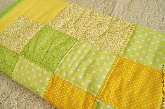 Одеяло лоскутное на заказ. Конверт для новорожденного. Лоскутные пледы и одеяла.  Ручная работа. Ярмарка мастеров. Мастер Сахарова Алена