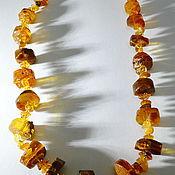 Украшения handmade. Livemaster - original item Amber beads