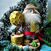 Русский стиль ручной работы. Ярмарка Мастеров - ручная работа Домовой Савва  с денежным деревом. Handmade.