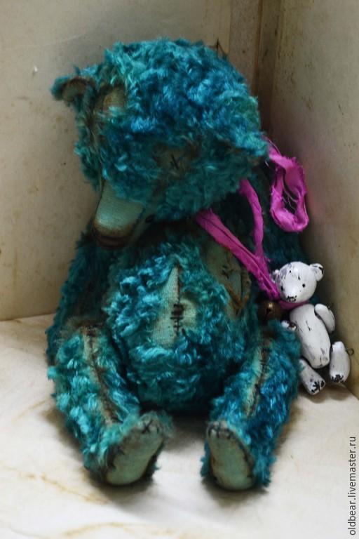 Мишки Тедди ручной работы. Ярмарка Мастеров - ручная работа. Купить Azure Dreams...... Handmade. Мишка, Куклы и игрушки handmade