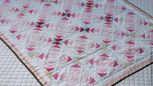 """Пледы и одеяла ручной работы. Ярмарка Мастеров - ручная работа. Купить Одеяло """"Мечты"""". Handmade. Белый, 100% хлопок"""