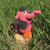 Куклы и игрушки ручной работы. Ярмарка Мастеров - ручная работа Бинго Бонго персонаж м/ф Головоломка. Handmade.