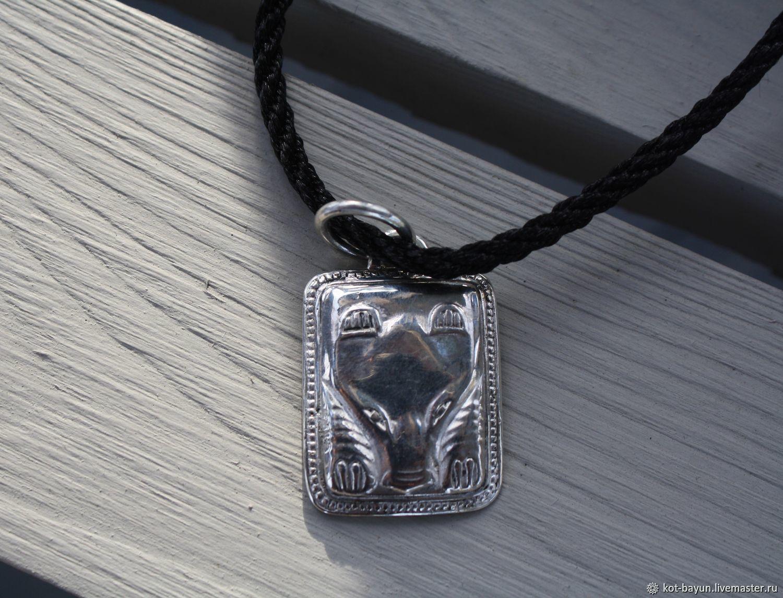 Pendant Bear 925 silver, Pendants, Moscow,  Фото №1