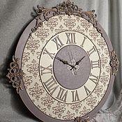 """Часы классические ручной работы. Ярмарка Мастеров - ручная работа Часы """"Афродита"""". Handmade."""