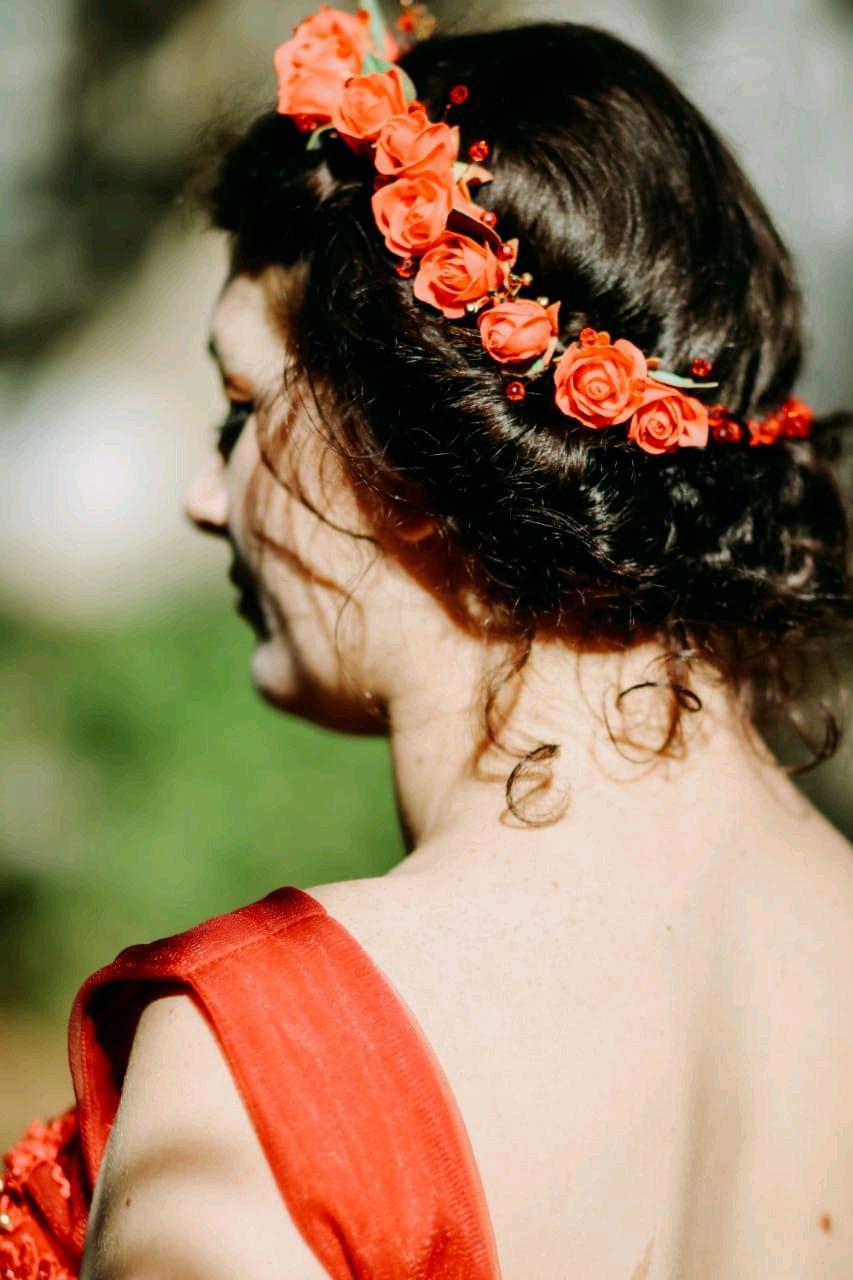 Венок из цветов, Украшения для причесок, Белореченск,  Фото №1