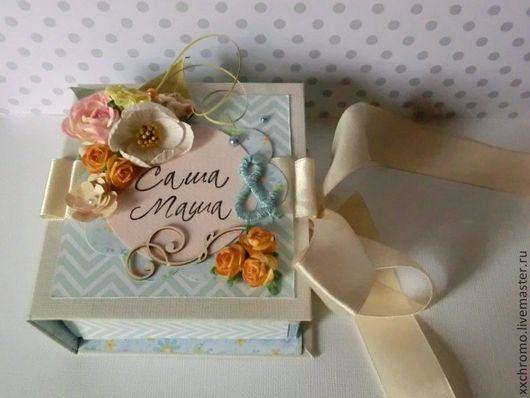 Авторская коробочка для денег в подарок на свадьбу.
