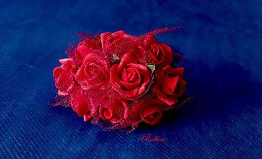 Другие виды рукоделия ручной работы. Ярмарка Мастеров - ручная работа. Купить Розы из латекса с фатином ЦЛ4. Handmade. Декор