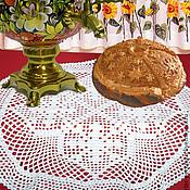 Для дома и интерьера ручной работы. Ярмарка Мастеров - ручная работа Салфетка филе крупная. Handmade.
