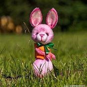 Куклы и игрушки handmade. Livemaster - original item Soft toys: raspberry Bunny. Handmade.