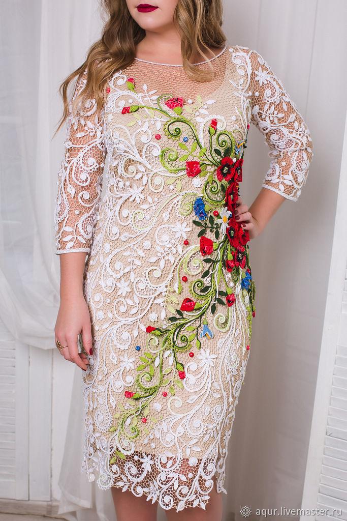 Платье букет россии марины шеиной