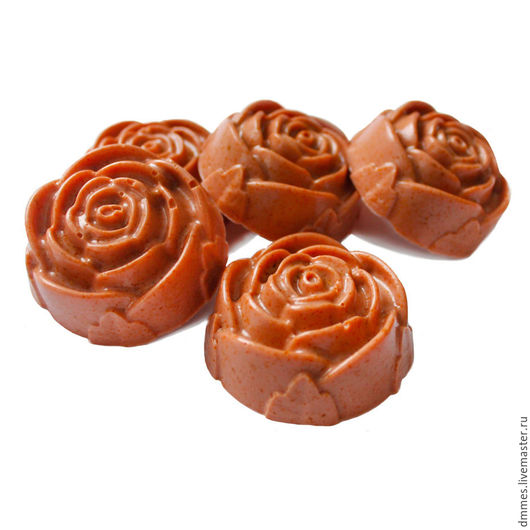 Мыло ручной работы. Ярмарка Мастеров - ручная работа. Купить Мыло с шиповником. Handmade. Коралловый, мыло роза