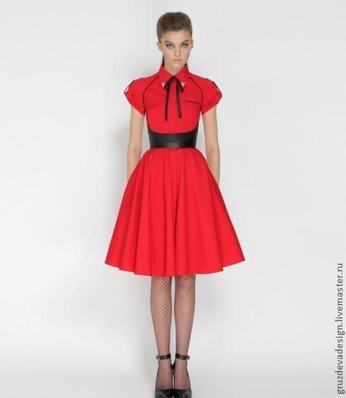 Купить стильное яркое платье и