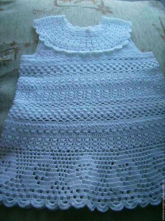 """Одежда для девочек, ручной работы. Ярмарка Мастеров - ручная работа. Купить платье """" Ангелочек"""". Handmade. Белый, платье для девочки"""