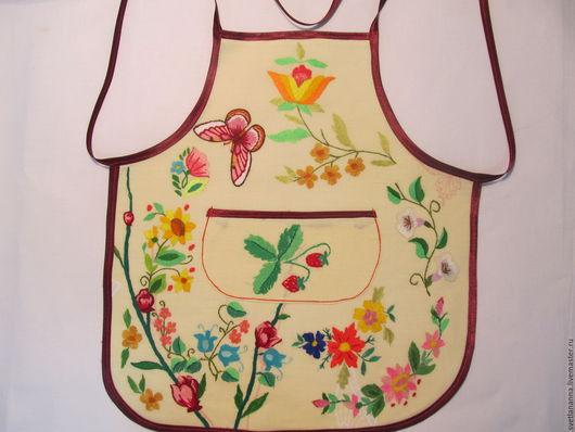 Кухня ручной работы. Ярмарка Мастеров - ручная работа. Купить фартук детский,передник,для кухни,для маленького поваренка. Handmade. Комбинированный