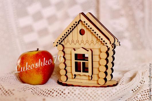 """Кухня ручной работы. Ярмарка Мастеров - ручная работа. Купить Салфетница из кедра """"Избушка"""". Handmade. Для дома и дачи"""