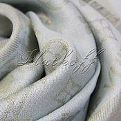 Аксессуары handmade. Livemaster - original item Shawls: Louis Vuitton mint monogramm shawl. Handmade.