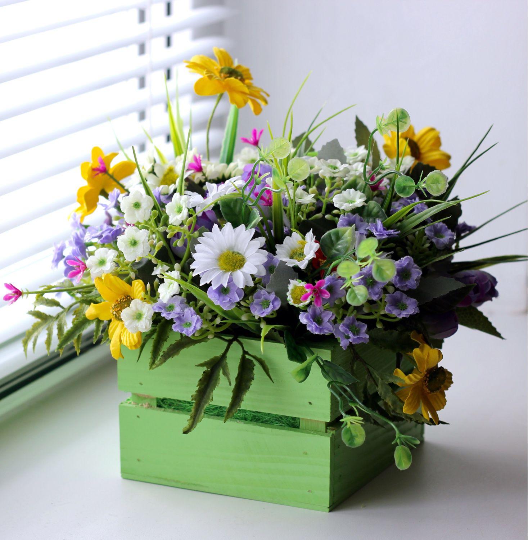 полевых букет цветов фото