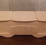 Материалы для творчества handmade. Livemaster - original item The casket (blank). Handmade.