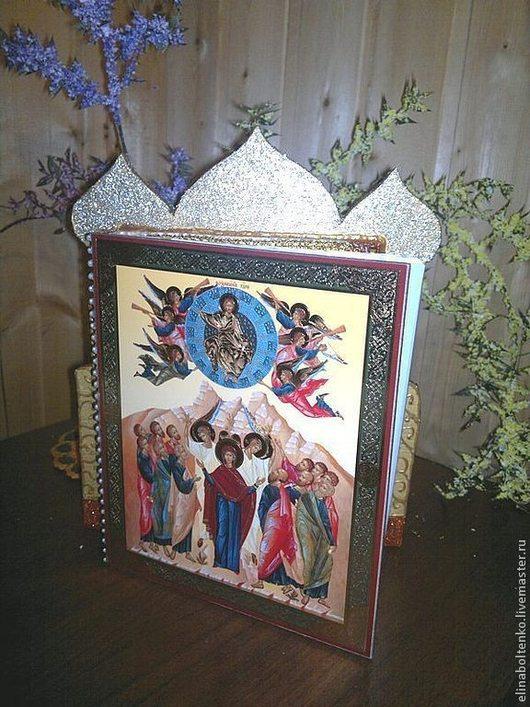 Книга Святых - христианский эгрегор. изготовитель Элина Болтенко. Дизайн каждой книги индивидуален и немного отличается.