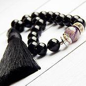 Фен-шуй и эзотерика handmade. Livemaster - original item Rosary 20 stones from black tourmaline. Handmade.