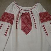 Одежда ручной работы. Ярмарка Мастеров - ручная работа Вышиванка  женская, ручная вышивка.. Handmade.