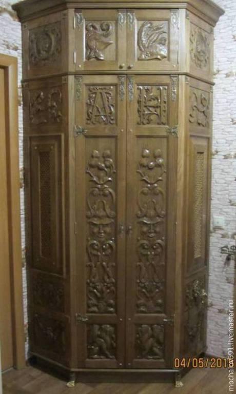 Угловой шкаф в прихожую, Вешалки, Москва,  Фото №1