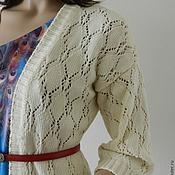Одежда ручной работы. Ярмарка Мастеров - ручная работа Кардиган Молочный. Handmade.