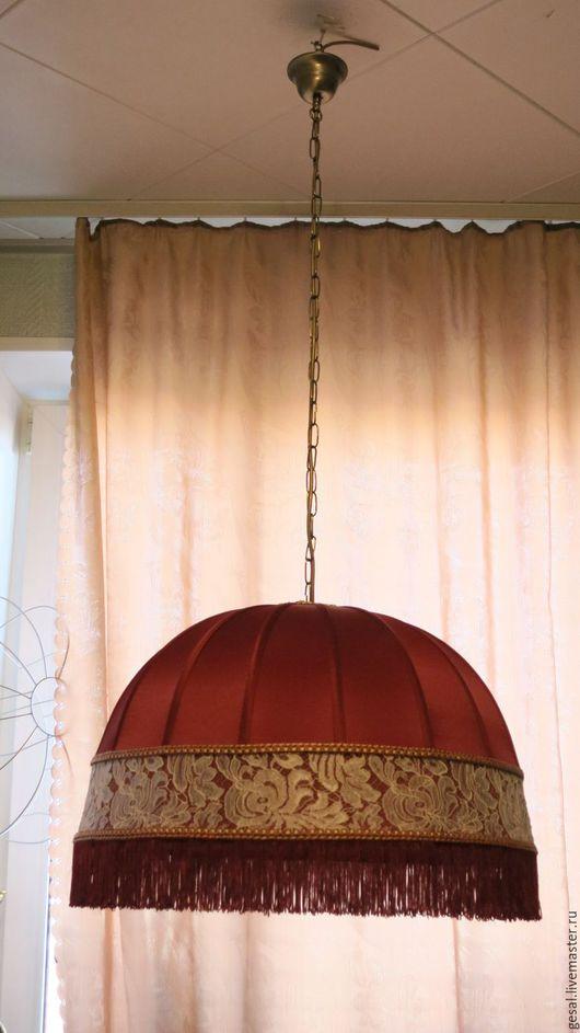 Освещение ручной работы. Ярмарка Мастеров - ручная работа. Купить абажур подвесной. Handmade. АБАЖУР, абажур подвесной, авторский светильник