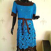 Одежда ручной работы. Ярмарка Мастеров - ручная работа платье Жаклин. Handmade.