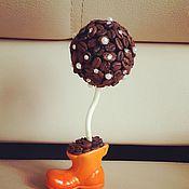 """Цветы и флористика ручной работы. Ярмарка Мастеров - ручная работа Кофейное деревце """"Оранжевое чудо""""!!!. Handmade."""