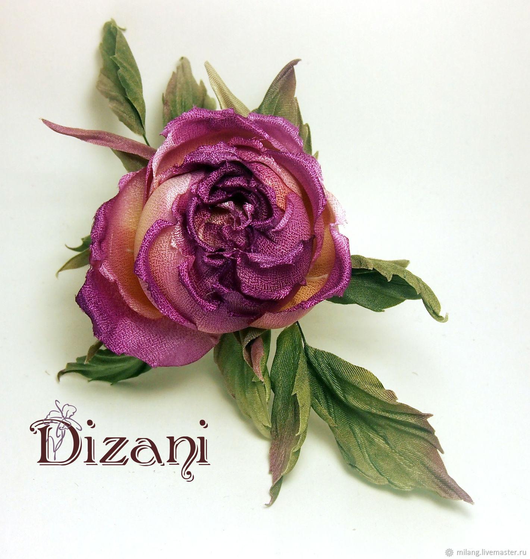 Rose Brooch Ines Silk Flowers Cloth Flowers Shop Online On