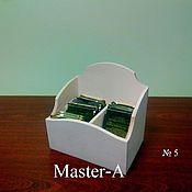 Материалы для творчества ручной работы. Ярмарка Мастеров - ручная работа Подставка для чая №5 - заготовка для декупажа. Handmade.