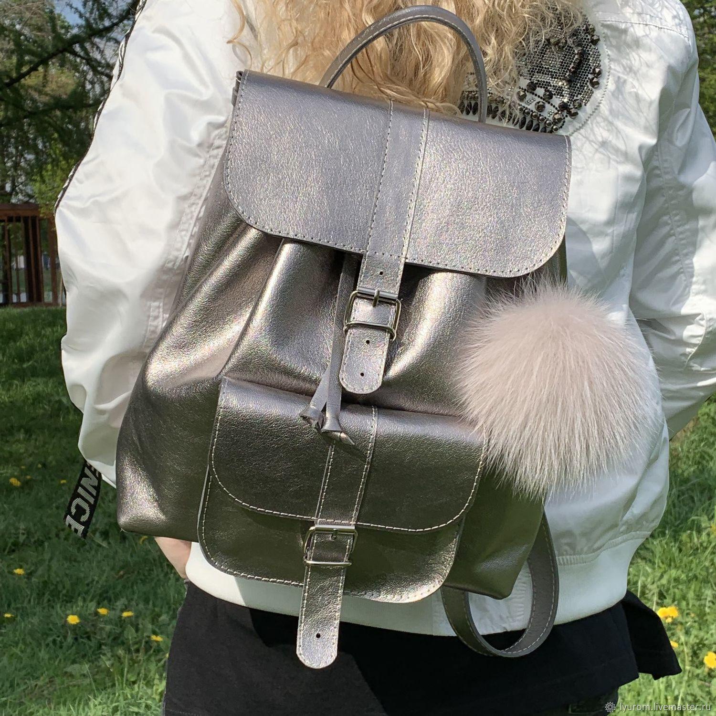 f0b4f852b48e Рюкзаки ручной работы. Ярмарка Мастеров - ручная работа. Купить Рюкзак  женский кожаный.