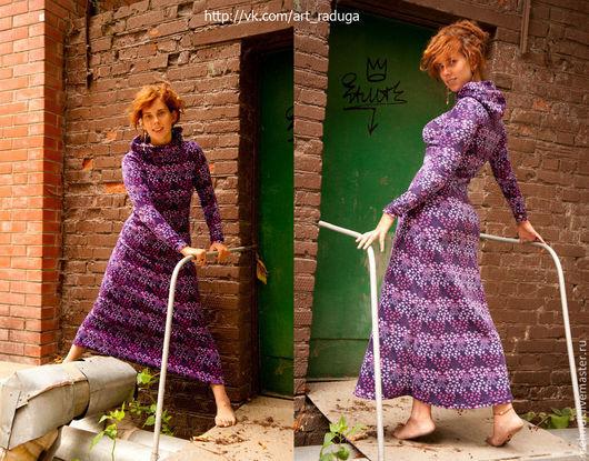 Флисовое волшебное платье размеры 42,44,46. Ограниченная коллекция -10 экземпляров Волшебное Барбарисовое