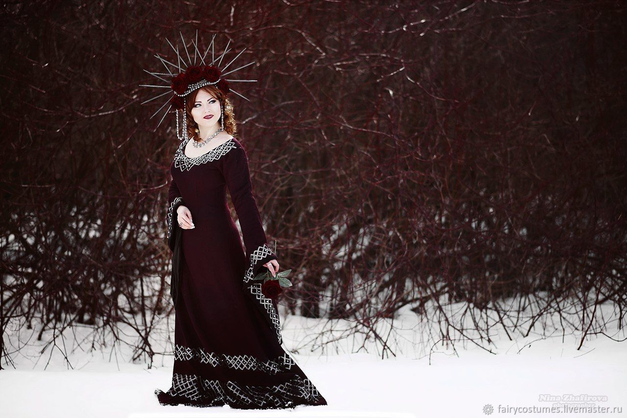 Dress 'FABULOUS GOTHIC', Carnival costumes, St. Petersburg,  Фото №1
