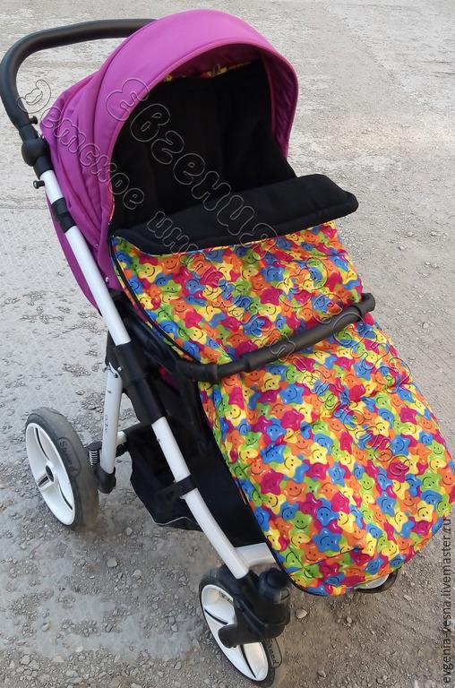 Аксессуары для колясок ручной работы. Ярмарка Мастеров - ручная работа. Купить Теплый конверт-матрасик для прогулочной коляски. Handmade. Чехол