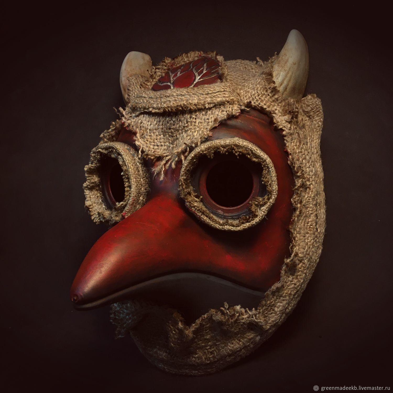 Birdman Mask, Mask for role playing, Ekaterinburg,  Фото №1