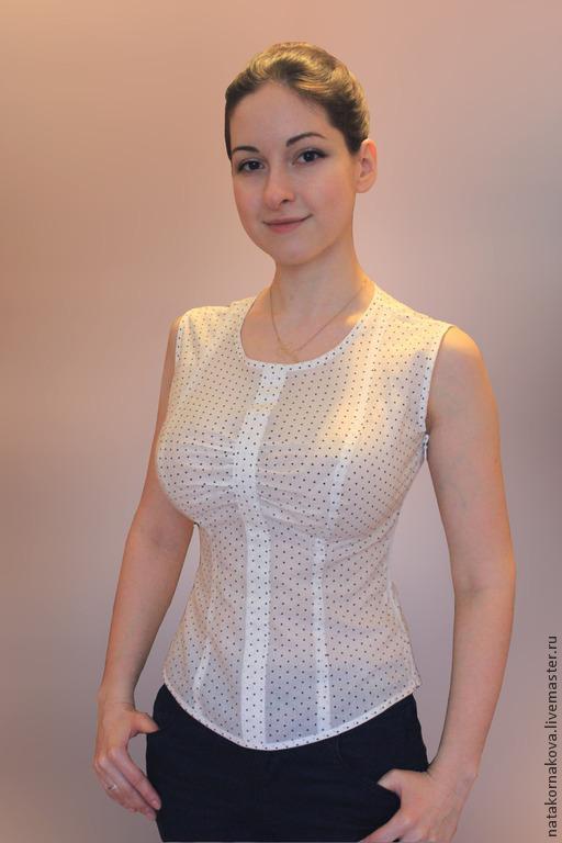 Блузки ручной работы. Ярмарка Мастеров - ручная работа. Купить Блузка для девушки. Handmade. Белый, блузка женская