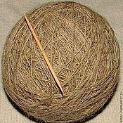 Материалы для творчества handmade. Livemaster - original item The FE thin warm yarn for hand knitting .. Handmade.