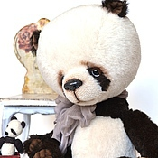 Куклы и игрушки ручной работы. Ярмарка Мастеров - ручная работа Максимка панда мишка тедди. Handmade.