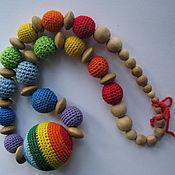 Одежда ручной работы. Ярмарка Мастеров - ручная работа Слингобусы Радуга. Handmade.