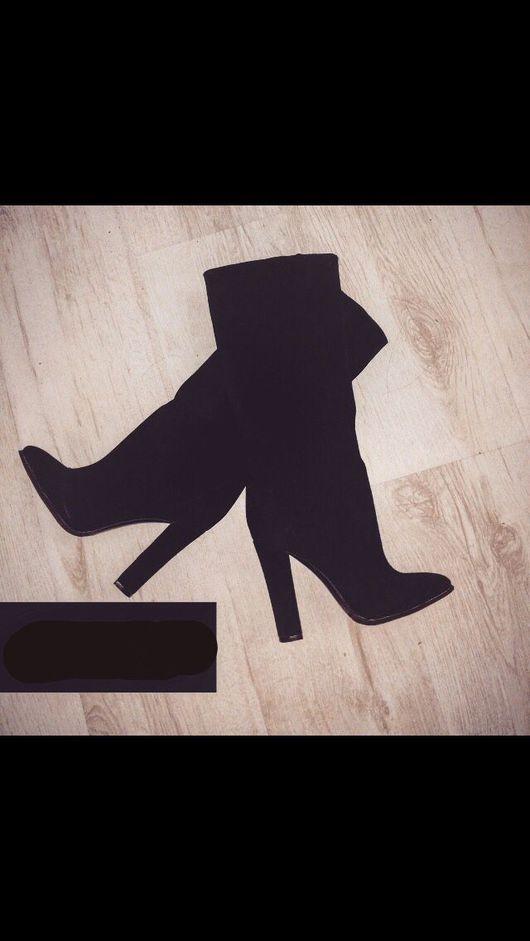 Обувь ручной работы. Ярмарка Мастеров - ручная работа. Купить Замшевые сапоги ручной работы. Handmade. Пошивобуви, изготовлениеобуви, обувь