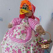 Для дома и интерьера ручной работы. Ярмарка Мастеров - ручная работа Грелка на чайник курица. Ароматизированная игрушка.. Handmade.