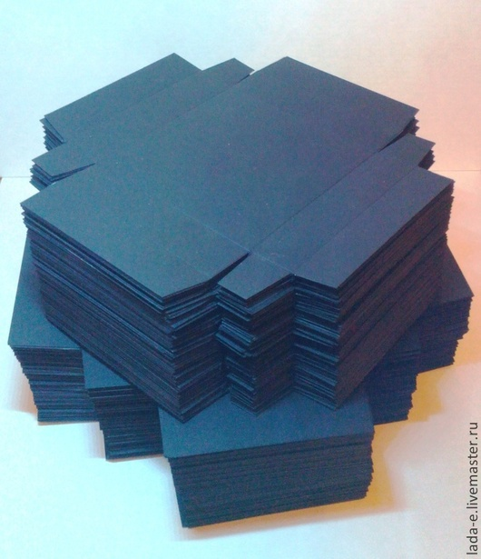 Упаковка ручной работы. Ярмарка Мастеров - ручная работа. Купить Заготовка коробочек из дизайнерской бумаги 100 шт. в упаковке. Handmade.