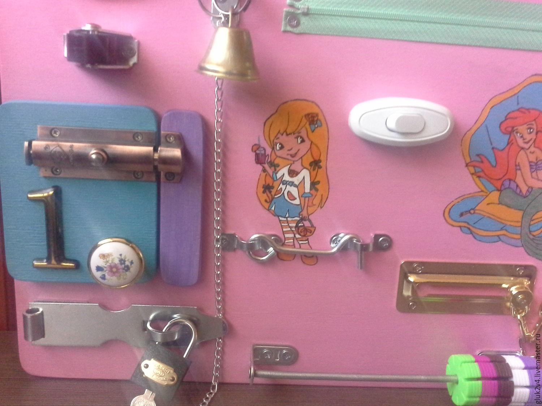 Бизиборд для девочки – купить в интернет-магазине на Ярмарке Мастеров с ... bfc11f4a758fa