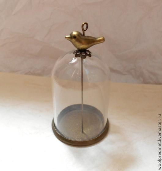 Для украшений ручной работы. Ярмарка Мастеров - ручная работа. Купить Основа для кулона - стеклянный купол. Handmade. Кулон